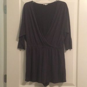 Urban Outfitters Black Romper - Never worn!